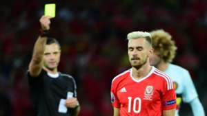 Aaron Ramsey Wales Belgium Euro 2016
