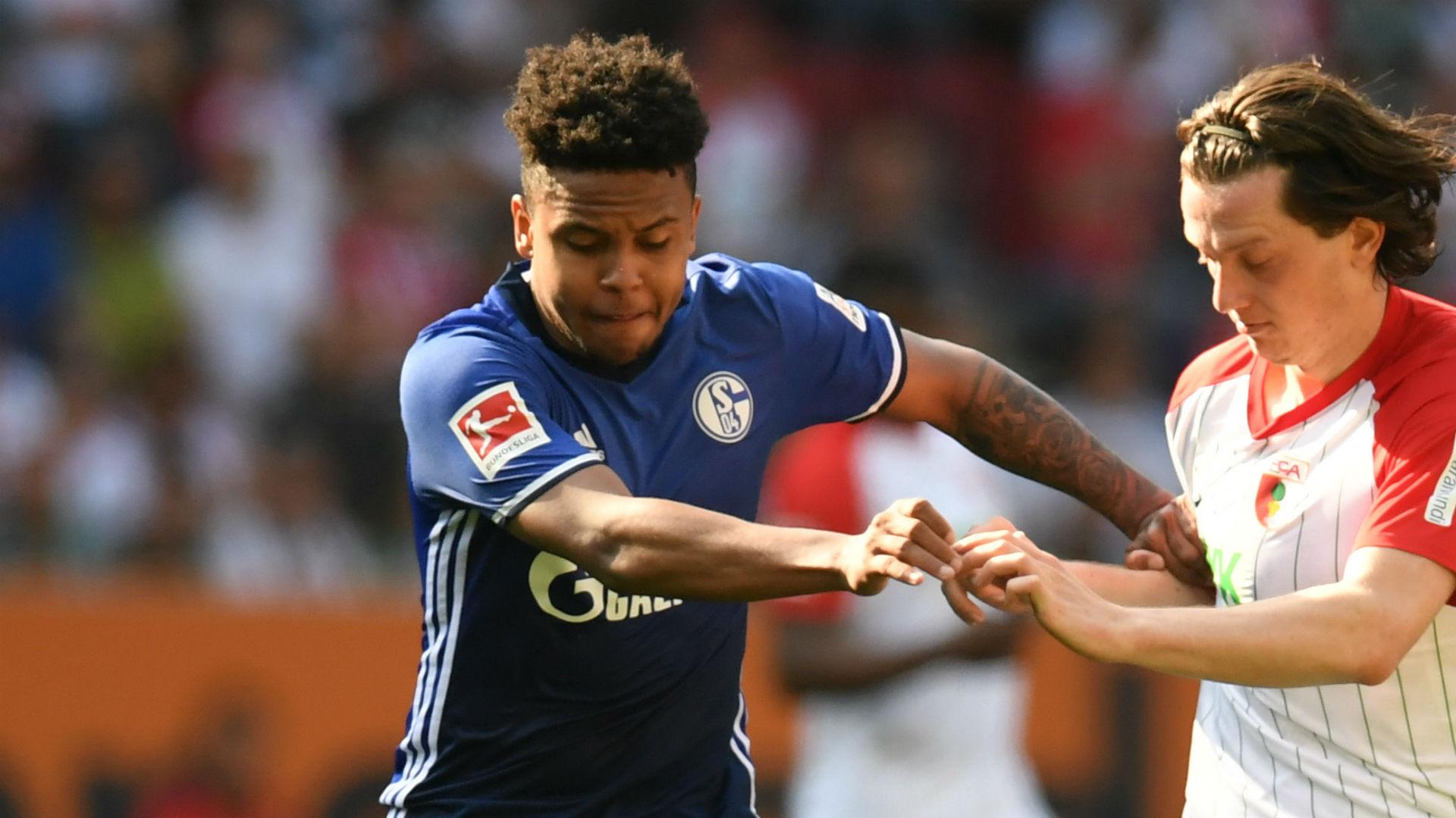 Weston McKennie Schalke Augsburg Bundesliga
