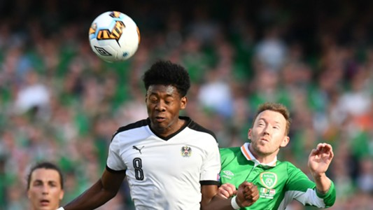 David Alaba Aiden McGeady Republic of Ireland Austria 11062017