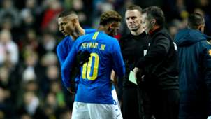 Richarlison Neymar injury Brazil Cameroon Friendly 20112018