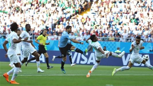 Luis Suarez Uruguai x Irã Copa do Mundo 20 06 18