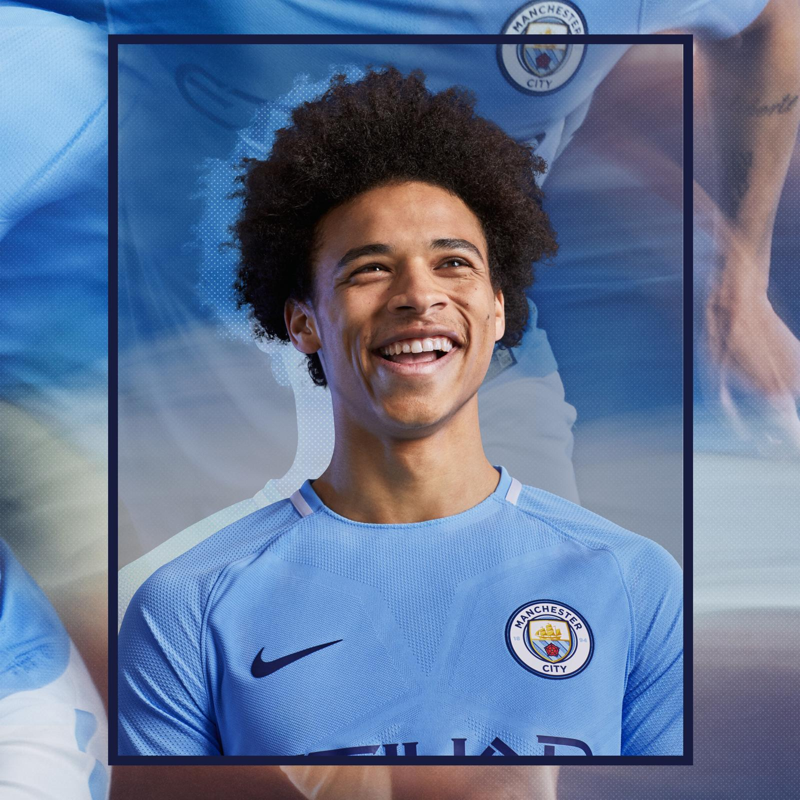 brand new 9522f 192e3 Man City 2017-18 kit: Manchester City unveil new jersey for ...