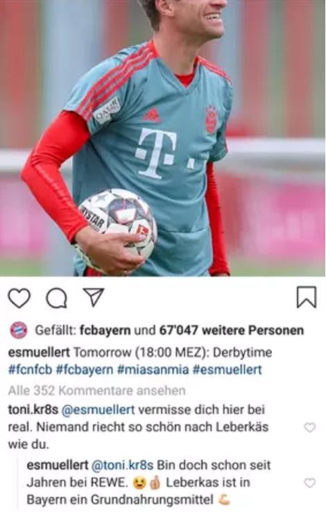 Kroos Müller Instagram