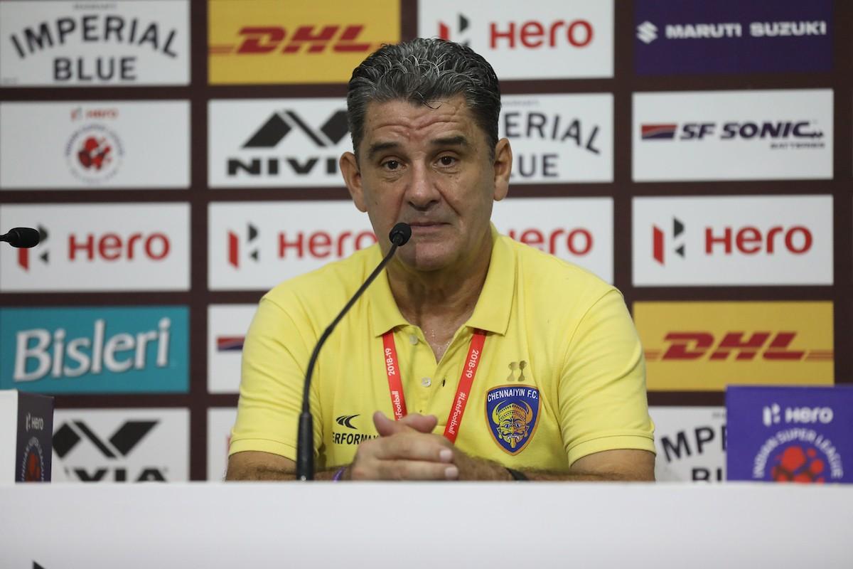 ISL 2018-19: Chennaiyin's John Gregory