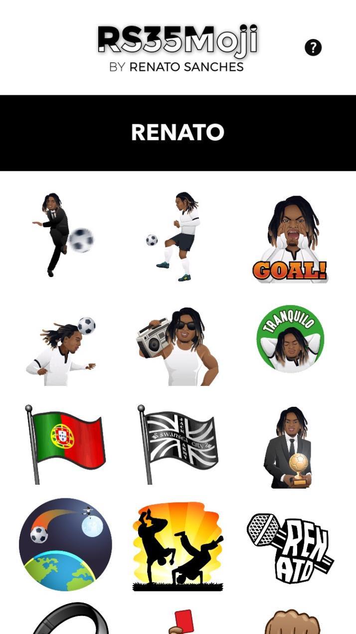 Renato Sanches Emojis