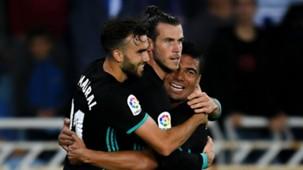 Borja Mayoral Gareth Bale Casemiro Real Madrid