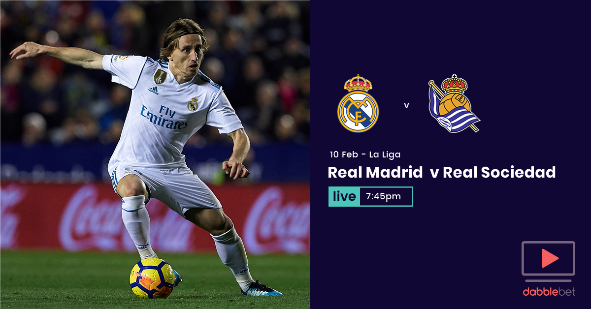 Real Madrid Sociedad graphic