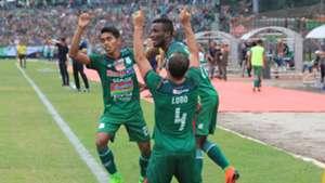 Selebrasi Reinaldo Lobo - PSMS Medan