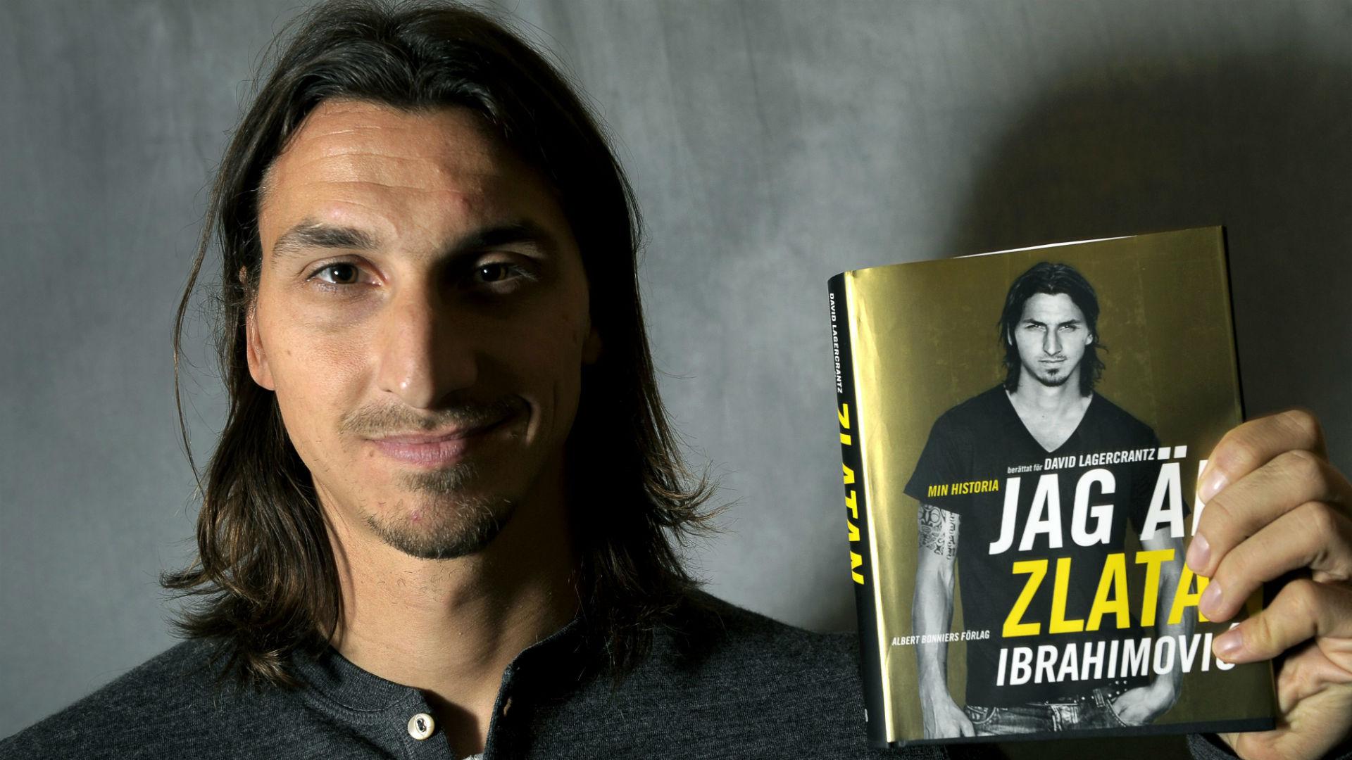 Zlatan Ibrahimovic book