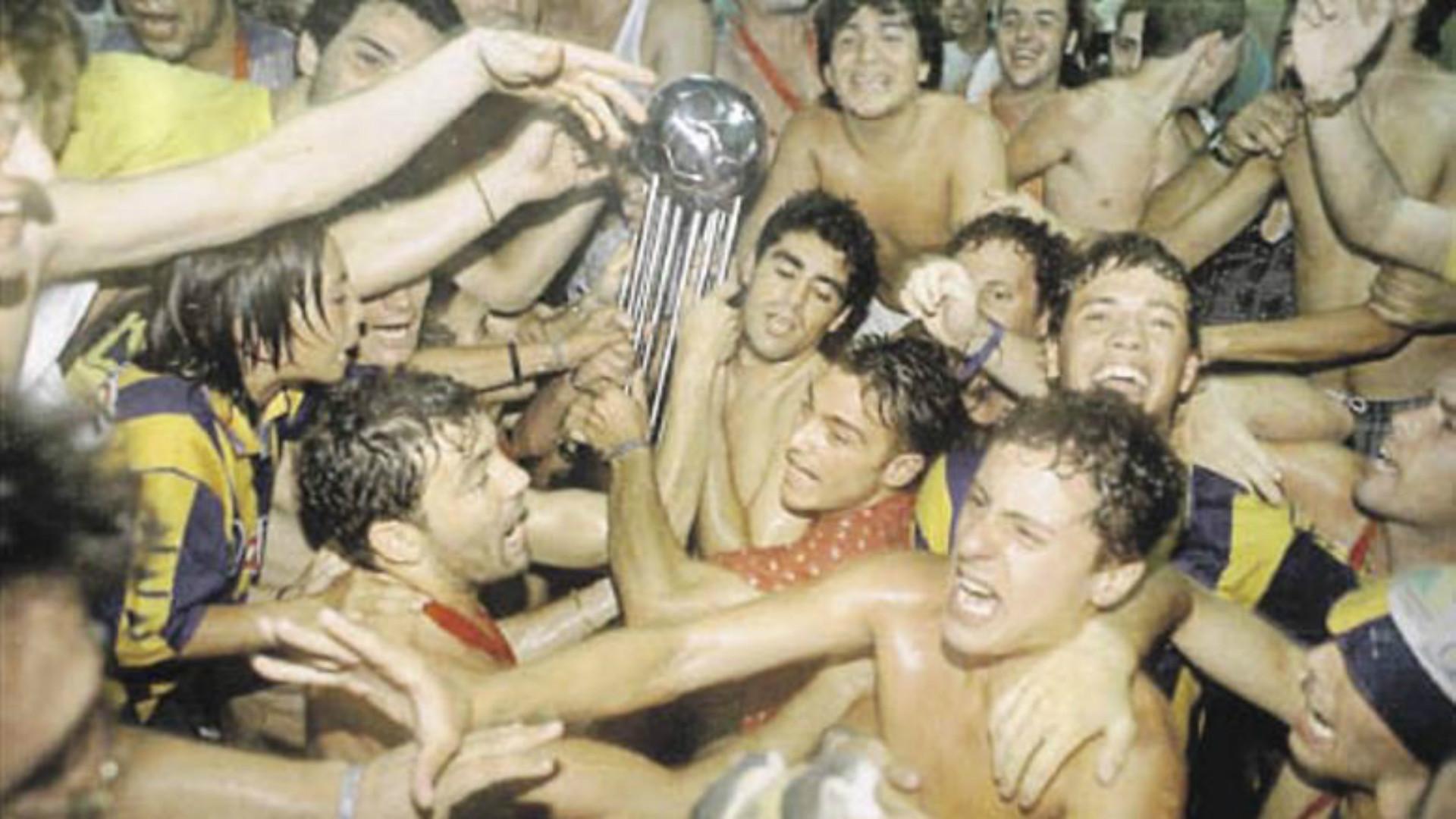 Rosario Central Copa Conmebol 1995