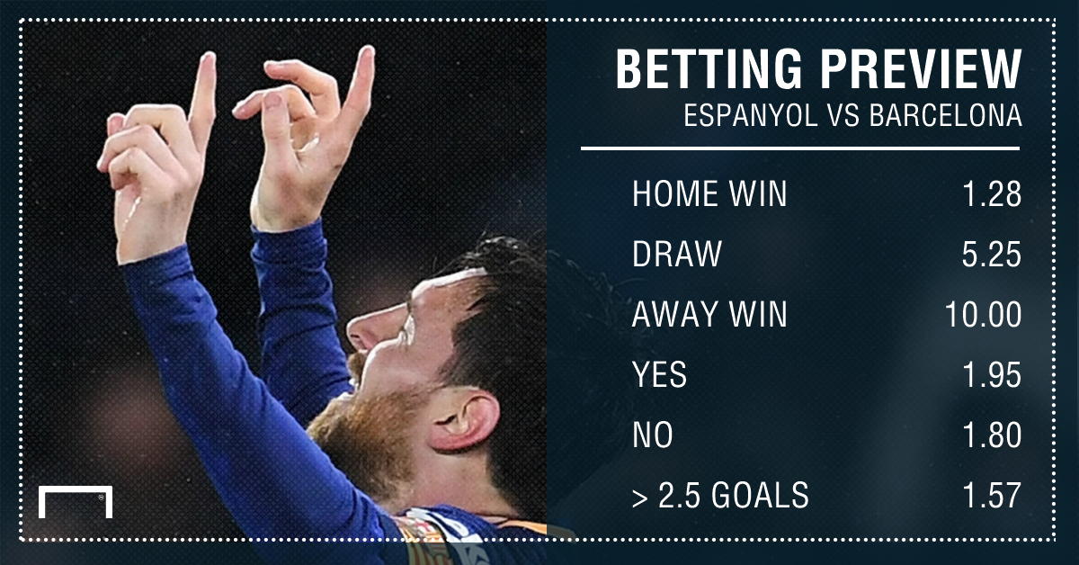 Espanyol favourites after first-leg win - Barcelona boss Valverde