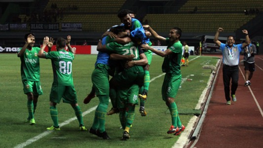 Selebrasi Bhayangkara FC