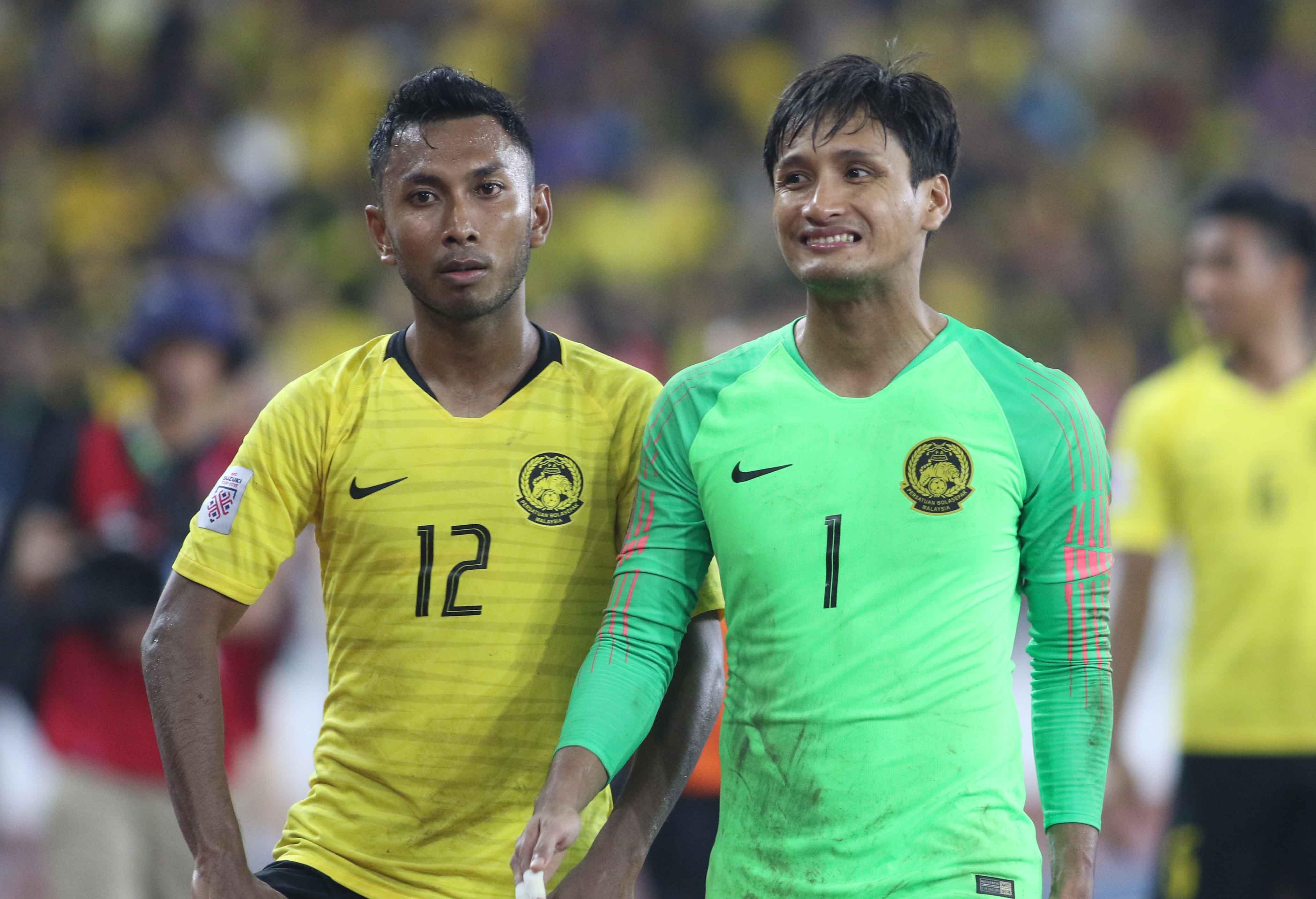 Mohd Farizal Malaysia Vietnam AFF Suzuki Cup 2018