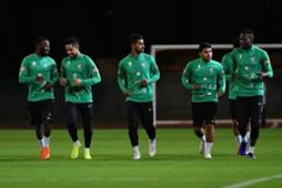 تدريبات منتخب السعودية