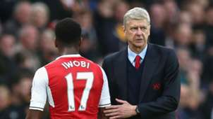 Alex Iwobi Arsene Wenger Arsenal
