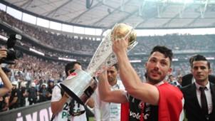 Tolgay Arslan Besiktas champions celebration