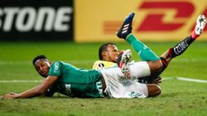 Yerry Mina Palmeiras vs Barcelona Copa Libertadores
