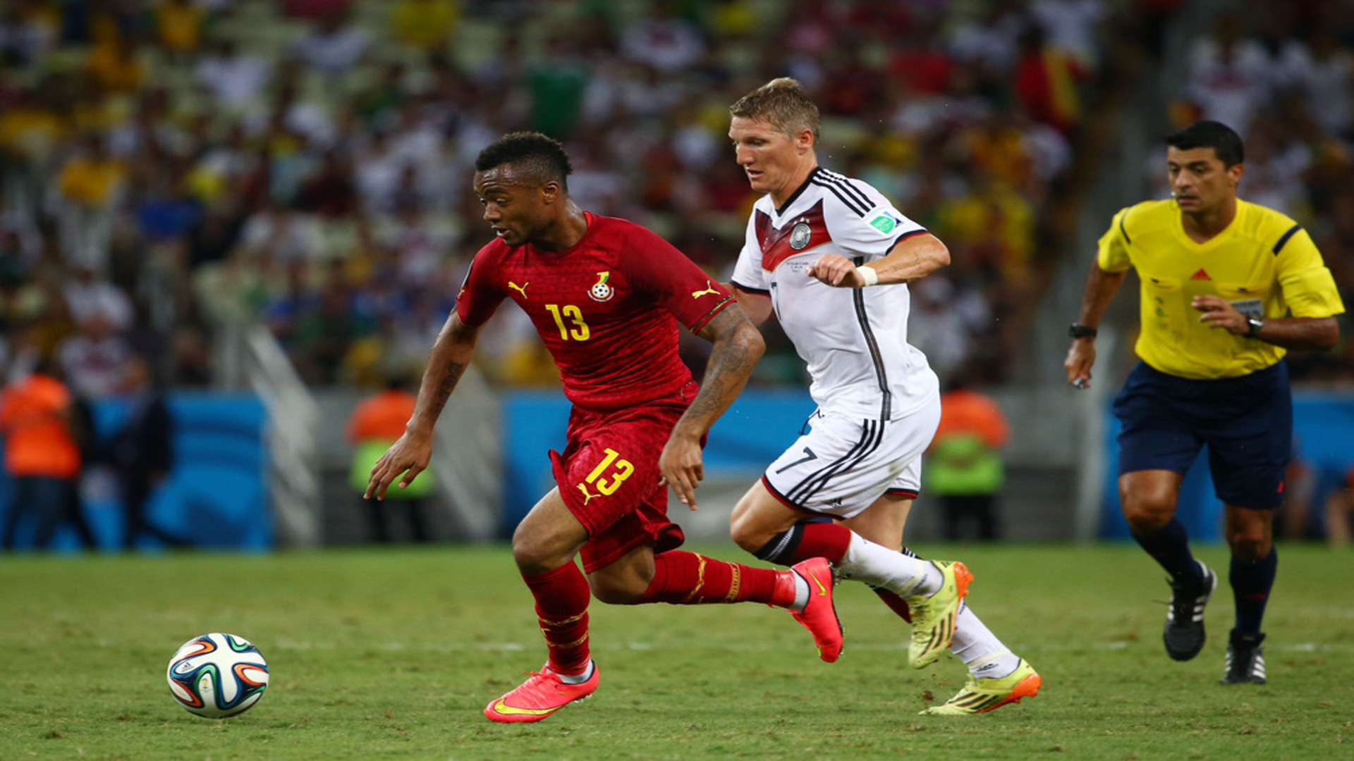 Jordan Ayew against Germany, 2014 World Cup