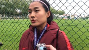 女足世界杯 勒阿弗尔训练