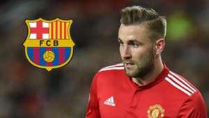Barcelona Luke Shaw