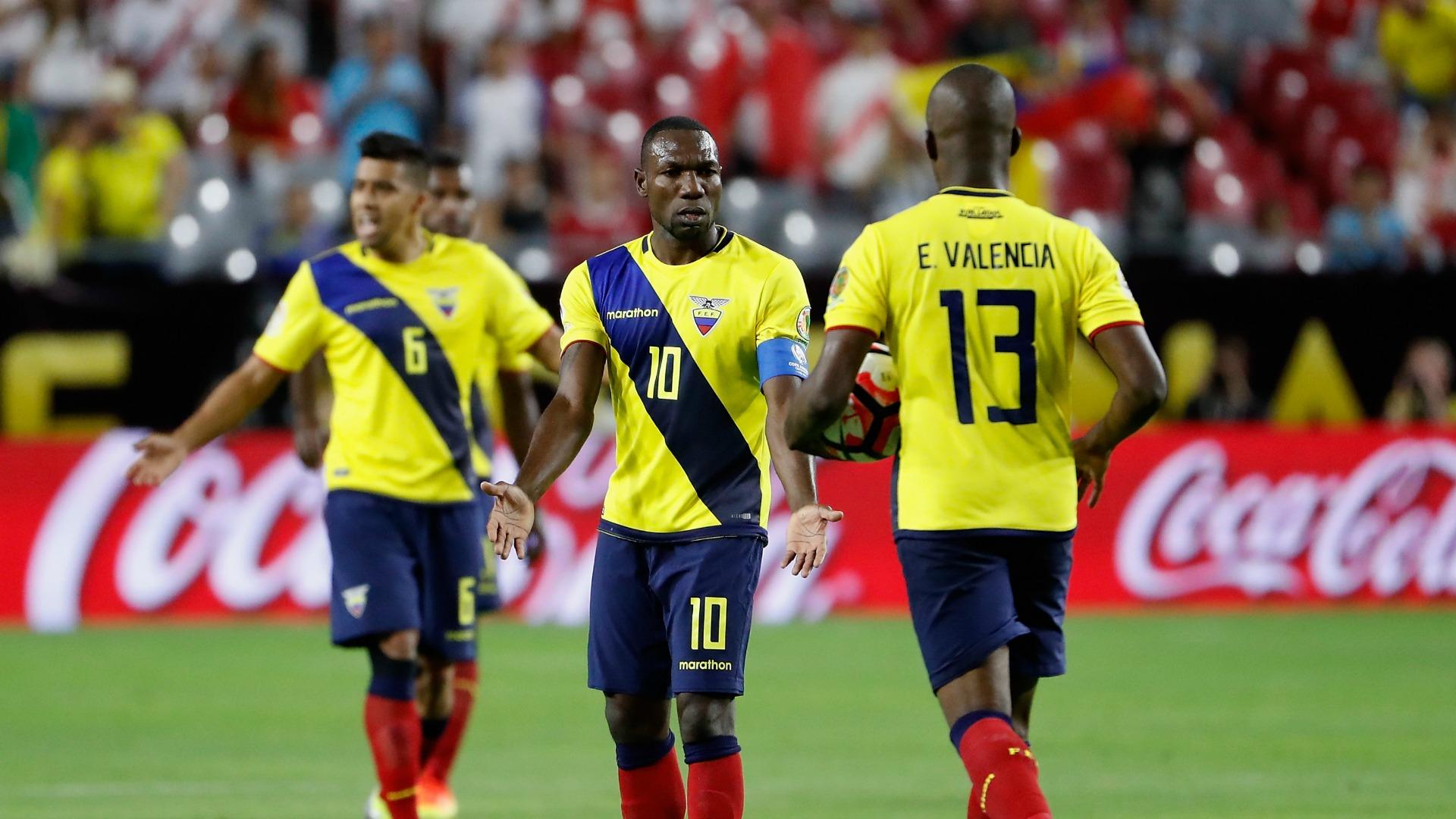 Ecuatoriano Ramírez dice que partidos con Chile y Argentina son una