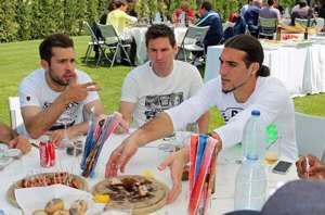 Asado Martino Barcelona Messi Jordi Alba