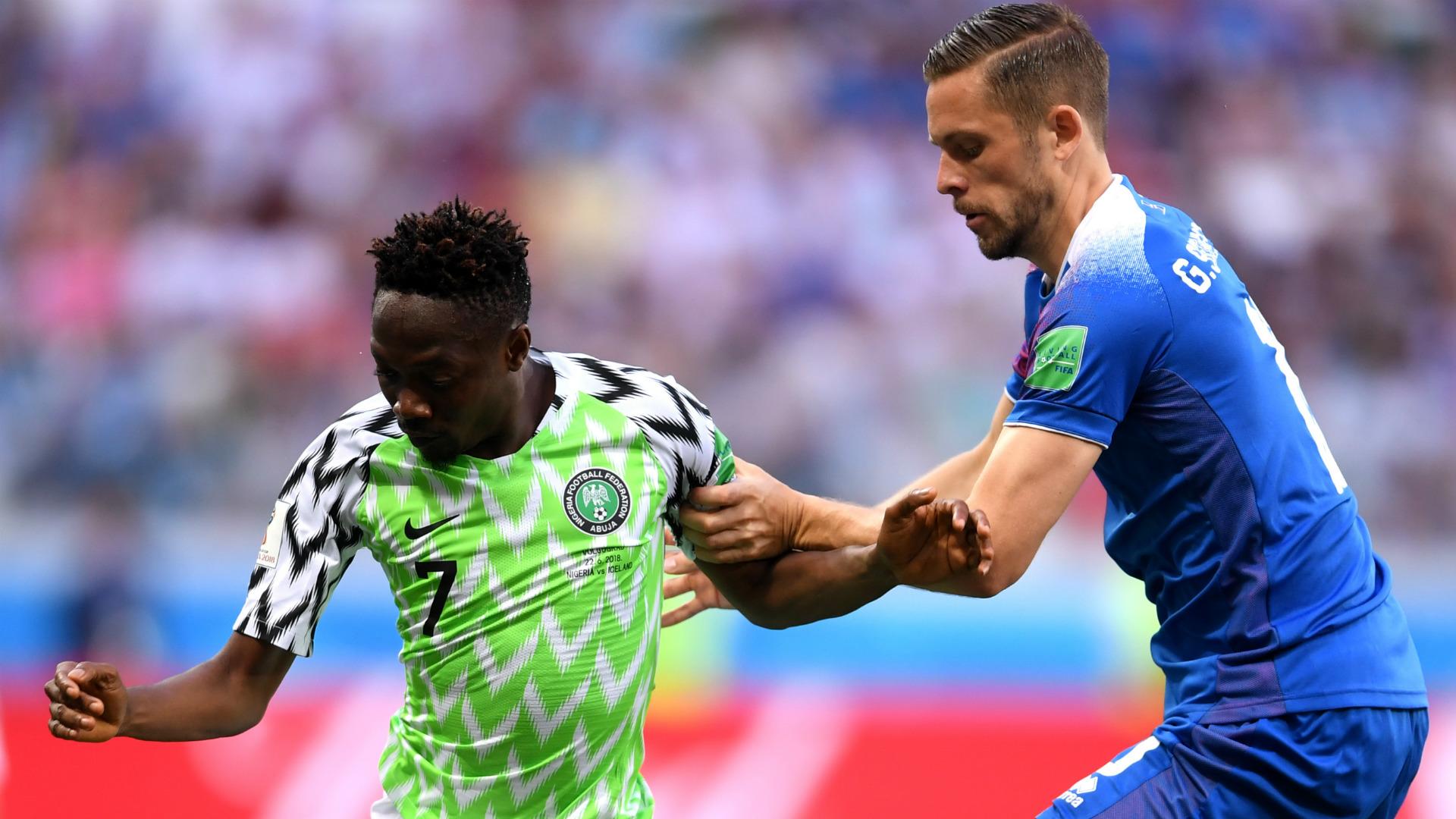 Ahmed Musa Gylfi Sigurdsson Nigeria Iceland 2018 World Cup