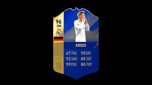 FIFA 18 Ultimate Team of the Season Kroos