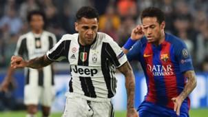Dani Alves Neymar Juventus Barcelona