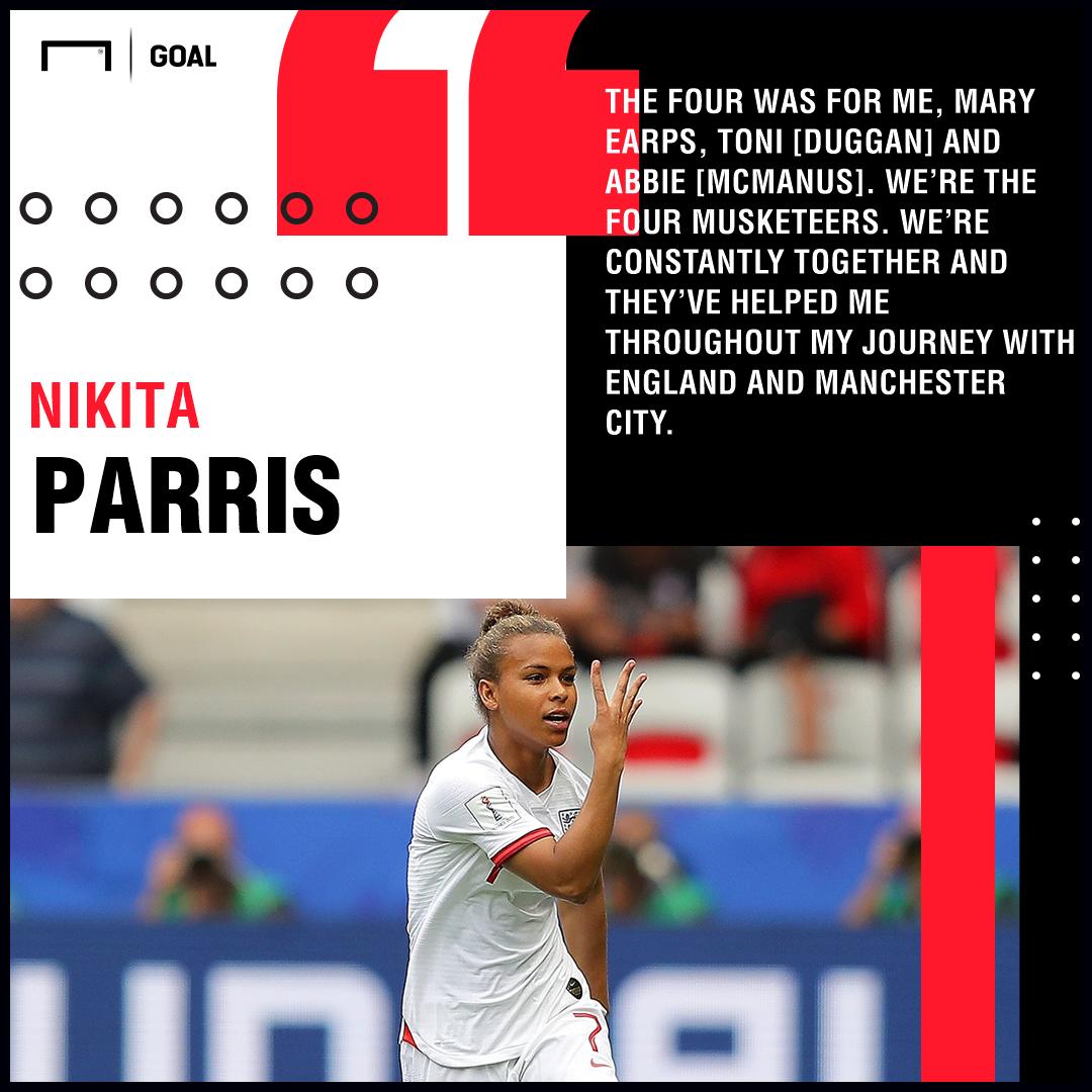 Nikita Parris England PS