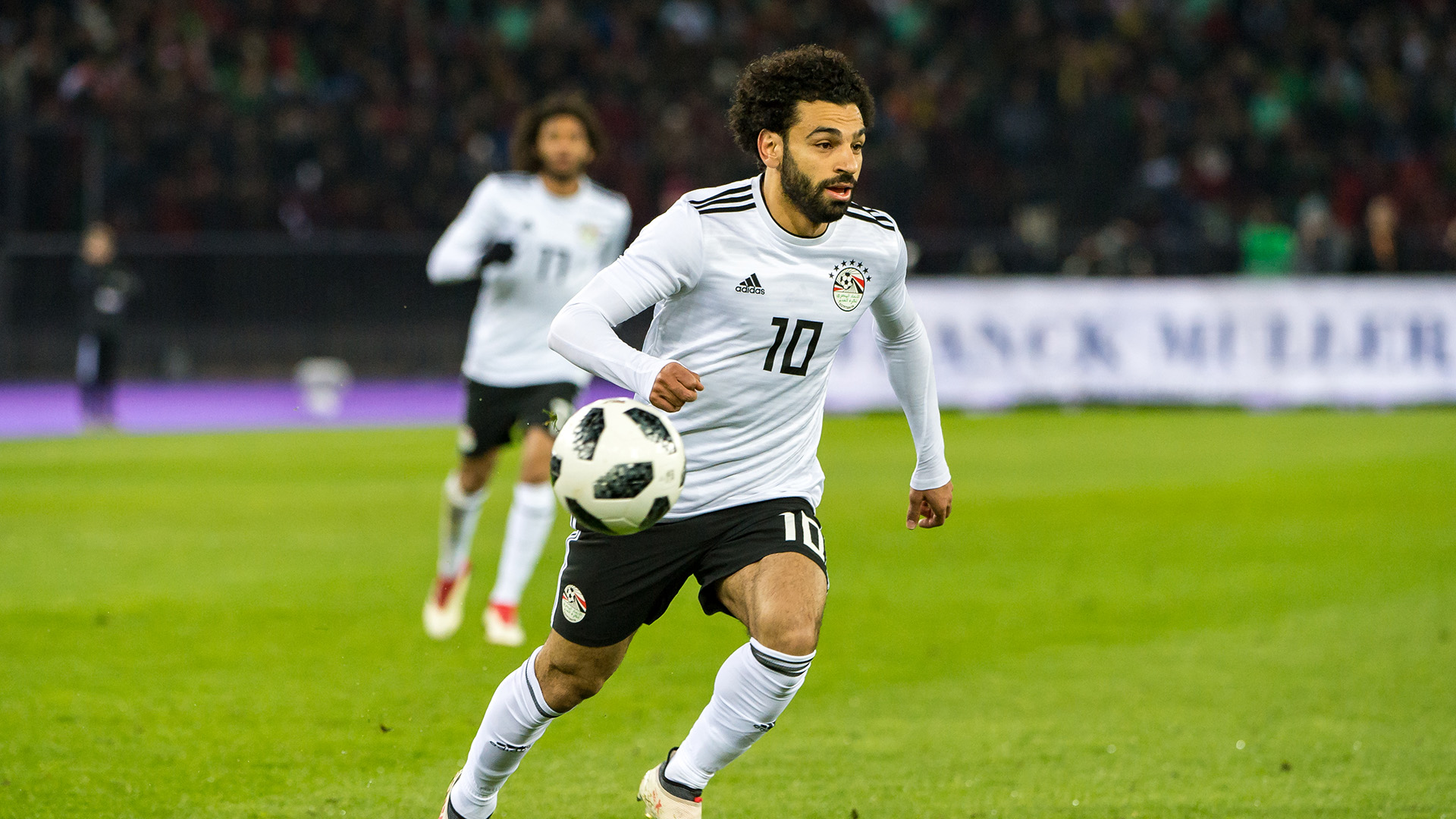 Salah confirmed fit for Uruguay tie