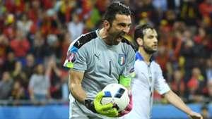 Gigi Buffon Belgium Italy Euro 2016