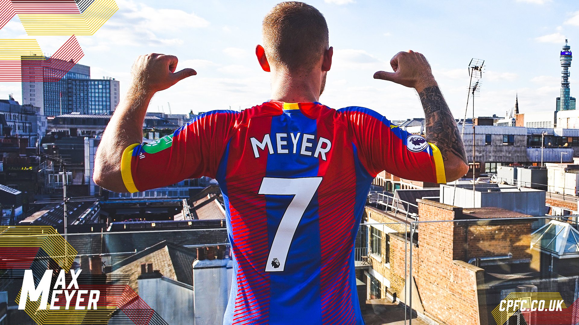 Max Meyer Crystal Palace