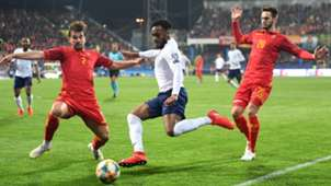 Danny Rose, Montenegro vs England