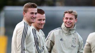 Frenkie De Jong Matthijs de Ligt Ajax