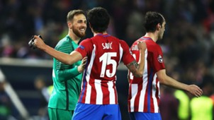 Oblak Savic Atletico Madrid