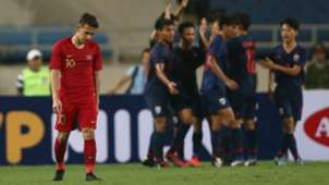 Selebrasi Thailand U-23