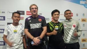 Konferensi Pers Persib Bandung vs PSM Makassar