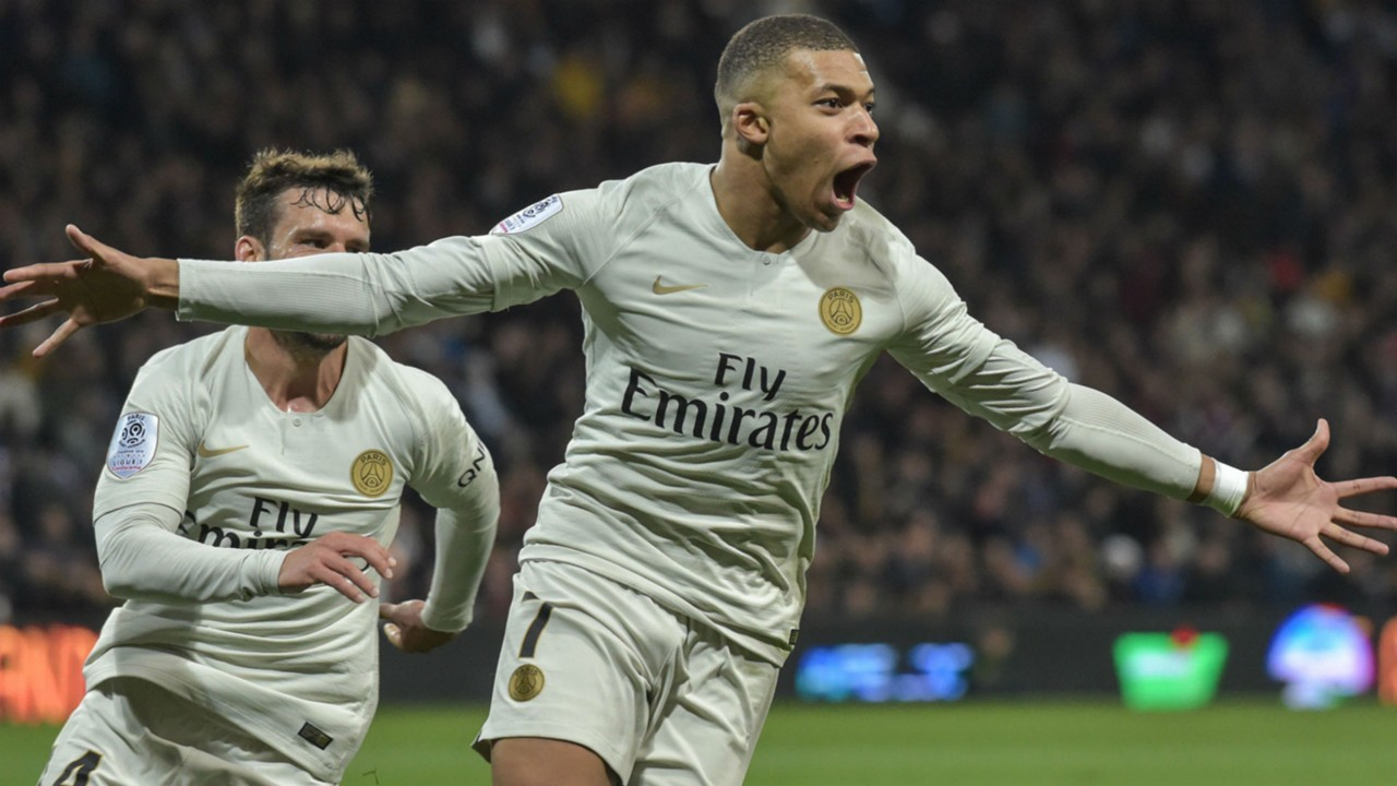 Kylian Mbappe Toulouse PSG Ligue 1 31032019
