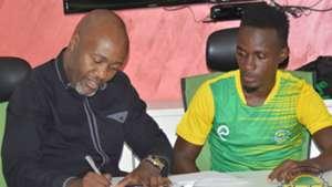 Kariobangi Sharks sign Harisson Mwendwa from Mathare United.