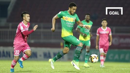 Sài Gòn FC XSKT Cần Thơ Vòng 9 V.League 2018