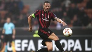Leonardo Bonucci Milan AEK Athens UEFA Europa League 10192017