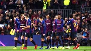 FC Barcelona celebration Champions League 11122018