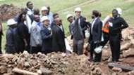 FKF President Nick Mwendwa directs CAF Inspection team