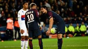 Neymar Cavani penalty PSG