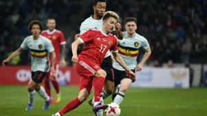 Aleksandr Golovin Russia Belgium 0317