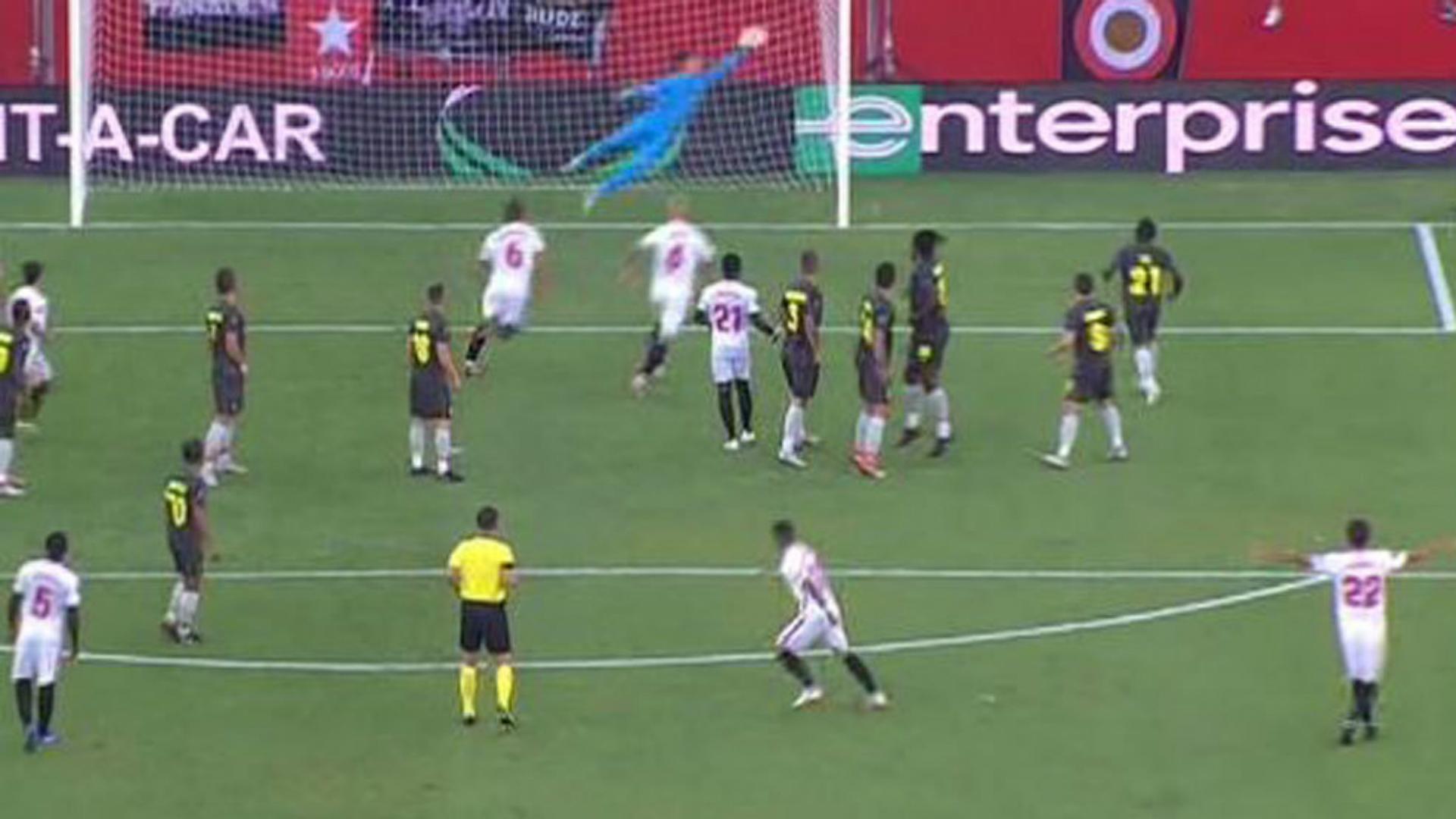 Ever Banega Sevilla gol