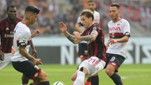 Lucas Biglia Milan Genoa Serie A