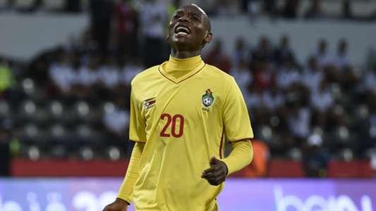 Khama Billiat of Zimbabwe