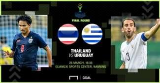 Preview China Cup : ทีมชาติไทย - ทีมชาติอุรุกวัย (รอบชิงชนะเลิศ)